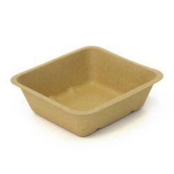 BeGreen Fiber Food Tray 24 oz 6.5 in x 6 in BG-FT-24
