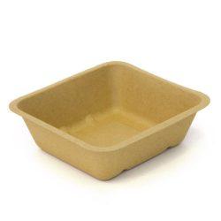 BeGreen Fiber Food Tray 34 oz 6.5 in x 6 in BG-FT-34
