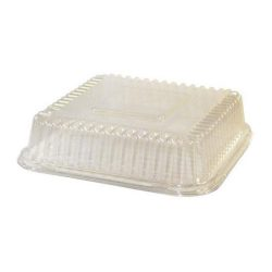 BeGreen PET Clear Dome Lid for Food Tray 6.5 in x 6 in BG-FT-DPL