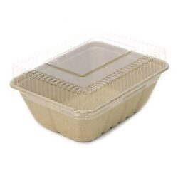 BeGreen PET Clear Dome Lid for Utility Tray 9 in x 7 in BG-UT-DPL