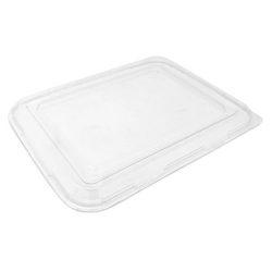 BeGreen PET Clear Flat Lid for Utility Tray 9 in x 7 in BG-UT-FPL-R1