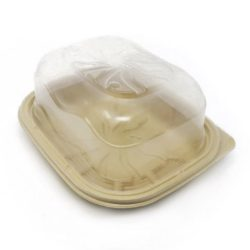 BeGreen PP Clear Dome Lid for Chicken Roaster Tray 9.5 in x 7.4 in BG-CR36-DPL