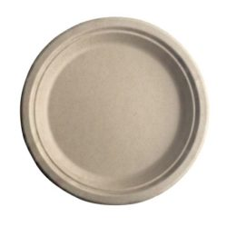 BetterEarth Fiber Bamboo Round Plate 10 in BE-FRP10EB
