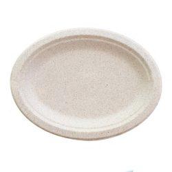 BetterEarth Fiber Blend Oval Platter 10 in x 12 in BE-ECFOP1012