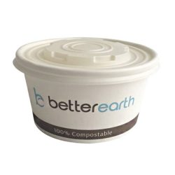 BetterEarth Paper PLA Lined Food Container 12 oz BE-SC12PLA