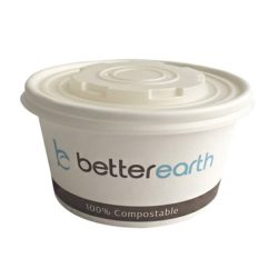 BetterEarth Paper PLA Lined Food Container 16 oz BE-SC16PLA