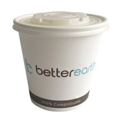 BetterEarth Paper PLA Lined Food Container 24 oz BE-SC24PLA