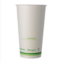 Conserveware Compostable Paper PLA Lined Hot Cup 20 oz 42HC20