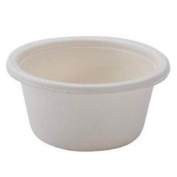 Conserveware Compostable Sugarcane Portion Cup 2 oz 42PC2