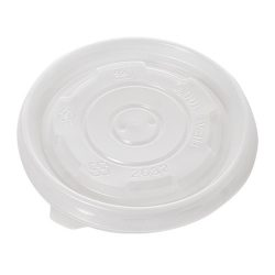 Conserveware PP Flat Lid for Container 8 oz 42FCLPP90