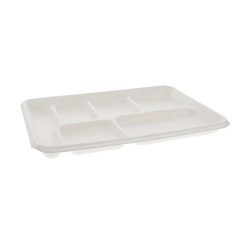 EarthChoice Fiber Blend 6 Compartment Tray 8.5 in x 12.5 in MC50601