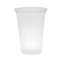 EarthChoice PLA Clear Cold Cup 20 oz YPLA21C