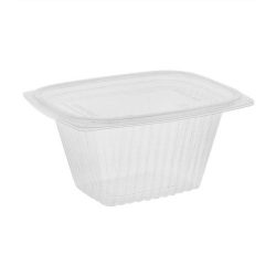 EarthChoice PLA Clear Deli Lid Container 16 oz 5.9 in x 4.9 in x 2.75 in YLI860160000