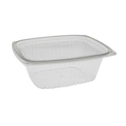 EarthChoice PLA Clear Deli Lid Container 32 oz 7.5 in x 6.5 in x 2.75 in YLI860320000