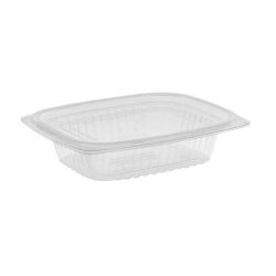 EarthChoice PLA Clear Deli Lid Container 8 oz 5.9 in x 4.9 in x 1.25 in YLI860080000