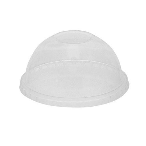 EarthChoice PLA Clear Dome Lid for Cold Cup 9 oz YPLADL20CNH