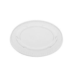EarthChoice PLA Clear Flat Lid for Portion Cup 3-4 oz YLSPLA3