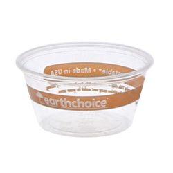 EarthChoice PLA Clear Portion Cup 2 oz YSPLA200EC