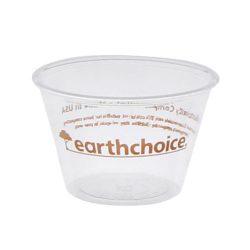 EarthChoice PLA Clear Portion Cup 4 oz YSPLA400EC