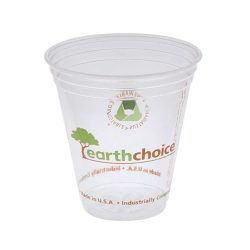 EarthChoice PLA Clear Print Cold Cup 12-14 oz YPLA1412CEC