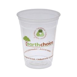 EarthChoice PLA Clear Print Cold Cup 16-18 oz YPLA160CEC