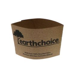 EarthChoice Paper Kraft Sleeve for Hot Cup 12-20 oz EC20000