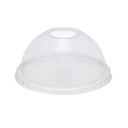 EarthChoice rPET Clear Dome Hole Lid for Cold Cup 9-12-14-16-20 oz YPDL20C