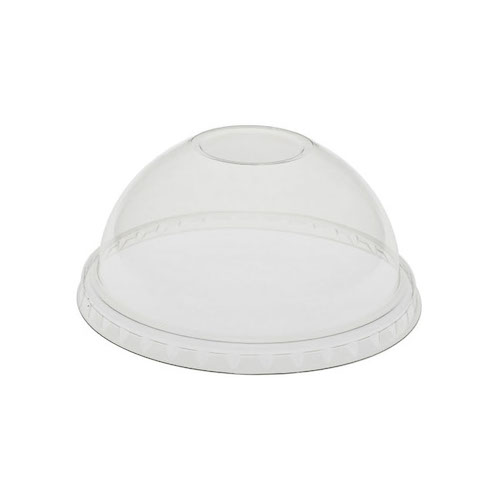 EarthChoice rPET Clear Dome Lid for Cold Cup 12-16-20-24 oz YPDL24CNH