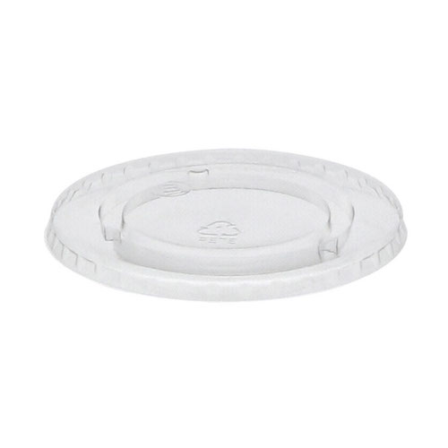 EarthChoice rPET Clear Flat Lid for Cold Cup 12-16-20-24 oz YLP24CNH