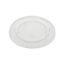 EarthChoice rPET Clear Flat Lid for Cold Cup 9-12-14-16-20 oz YLP20CNH