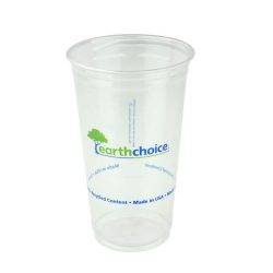 EarthChoice rPET Clear Print Cold Cup 24 oz YP24CEC2