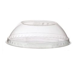 Eco Products PLA Clear Dome Lid for Container 12-32 oz EP-BSCDLID