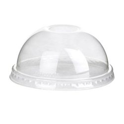 Eco Products PLA Clear Dome Lid for Container 5 oz EP-BSC5DLID
