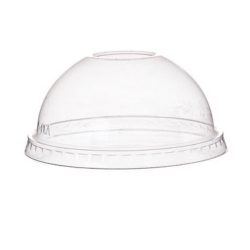 Eco Products PLA Clear Dome Lid for Container 8-10 oz EP-BSC8DLID