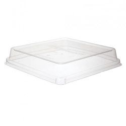 Eco Products PLA Clear Dome Lid for Square Container 9 in EP-SCS9SLID
