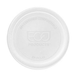 Eco Products PLA Clear Flat Lid for Portion Cup 2-4 oz EP-PCLID
