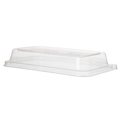 Eco Products PLA Clear Lid for Rectangular Container 24-32 oz EP-SCRC24LIDP