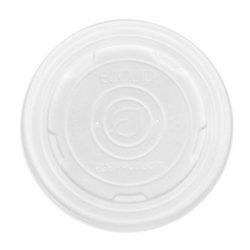 Eco Products PLA Translucent Lid for Container 12-32 oz EP-ECOLID-SPL