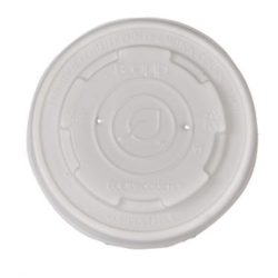 Eco Products PLA Translucent Lid for Container 4 oz EP-ECOLID-SPS4