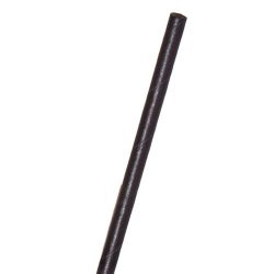 Eco Products Paper Black Jumbo Straw Unwrapped 7.75 in EP-STP76U-BLK