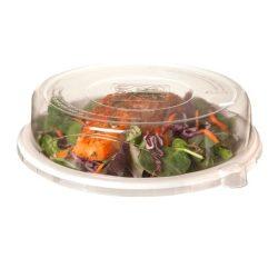 Eco Products rPET Clear Lid for Round Plate 9 in EP-P013LID