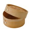 PacknWood Bamboo Dim Sum Steamer 3 oz 2.8 in 209BBDIM7