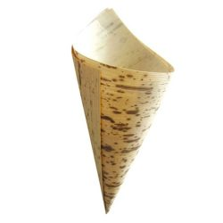PacknWood Bamboo Leaf Cone 1.5 oz 1.9 in x 5.1 in x 3.5 in 210BBCOB13