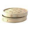 PacknWood Bamboo Lid for Dim Sum Steamer 55 oz 11.8 in 209BBDIM30LID