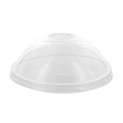 PacknWood Clear Dome Cold Lid for Deli Container 12-24 oz 210GKLDZ114