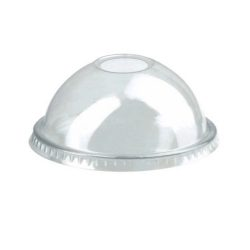 PacknWood Clear Dome Lid for Portion Cup 2.9 in 210GKLD74D