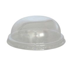 PacknWood Clear Dome Lid for Portion Cup 3.5 in 210GKL90D