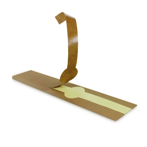 PacknWood Kraft Self Adhering Paper Wrapper 11.75 in 210LAP30