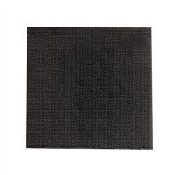 PacknWood Paper Black Napkin 2-Ply 15 in x 15 in 210SMP3838N