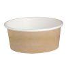 PacknWood Paper Kraft Deli Container 16 oz 4.49 in 210DELIPOC16